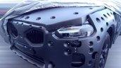 2017 Volvo XC60 front fascia spy shot