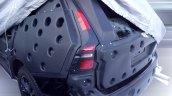 2017 Volvo XC60 rear fascia spy shot