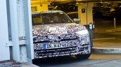 2018 Audi A8 front fascia spy shot Copenhagen