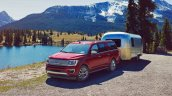 2018 Ford Expedition front three quarters left side