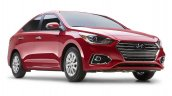 2018 Hyundai Accent (Hyundai Verna) front three quarters right side
