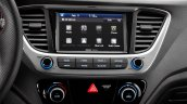 2018 Hyundai Accent (Hyundai Verna) infotainment system