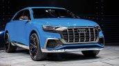 Audi Q8 concept front three quarters