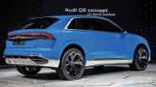 Audi Q8 concept rear three quarters