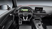 Audi SQ5 dashboard driver side