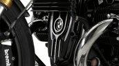 BMW R nine T machined parts by Roland Sands oil filler neck lid