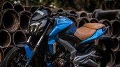 Bajaj Dominar 400 custom wrap by Knight Auto Customizer side with headlamp
