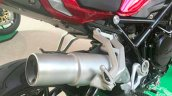 Benelli TNT750 spy shot exhaust