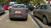 Chevrolet Beat Essentia rear spy shot