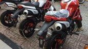 Ducati Monster copy Monster 110 from Vietnam rear three quarter