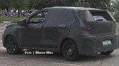 Fiat X6H rear three quarters spy shot Brazil