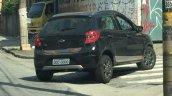 Ford Ka Trail black rear three quarters spy shot