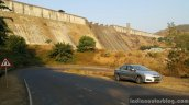 Honda City AT temghar dam from Myles Pune travelogue