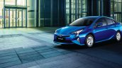 Indian-spec 2017 Toyota Prius front three quarters left side