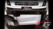 Isuzu D-Max X-Series exterior highlights