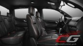 Isuzu D-Max X-Series interior seats