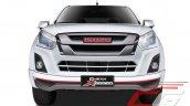 Isuzu D-Max X-Series white front