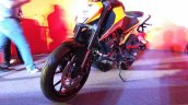 KTM Duke 250 front three quarter left India launch