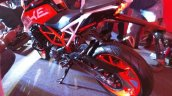 KTM Duke 390 rear three quarter at launch left