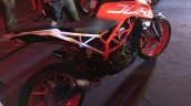 KTM Duke 390 side profile at launch