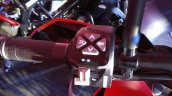 KTM Duke 390 switchgear left at launch