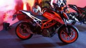 KTM duke 390 side view at launch