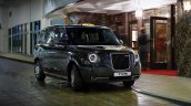 London Taxi TX5 plug-in hybrid front three quarters