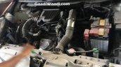 Maruti Baleno RS dual tone engine bay spied