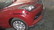 Maruti Baleno RS dual tone right side spied