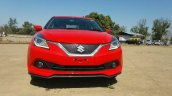 Maruti Baleno RS front spied ahead of launch