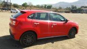 Maruti Baleno RS side spied ahead of launch