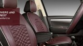 Maruti Ertiga Limited Edition seat covers