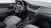 Next-gen 2017 Hyundai Solaris (2017 Hyundai Verna) interior revealed