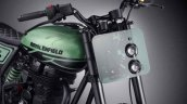 Royal Enfield Classic 500 Green Fly headlamp