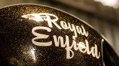 Royal Enfield Thunderbird 350 Gold Stone Eimor Customs badging RE