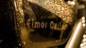 Royal Enfield Thunderbird 350 Gold Stone Eimor Customs badging