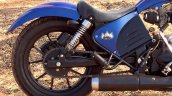 Royal Enfield Thunderbird Blue Evo by XLNC Customs rear suspension