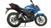Suzuki Gixxer blue side