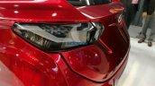 Tata Tamo C-Cube Concept taillamps photographed
