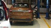 Tata Tigor rear spy shot