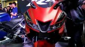 Yamaha R15 v3.0 Thailand Maverick Vinales front section red