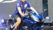 Yamaha R15 v3.0 Thailand Maverick Vinales front three quarter