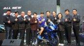 Yamaha R15 v3.0 Thailand Maverick Vinales front thumbs up