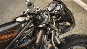 Yamaha RD350 Falcon by Moto Essence handlebar side