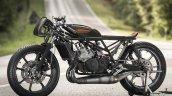 Yamaha RD350 Falcon by Moto Essence side left