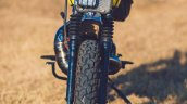 Yamaha RX100 Baby Blue by Ironic Engineering front