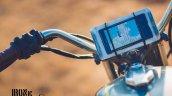 Yamaha RX100 Baby Blue by Ironic Engineering smartphone integration
