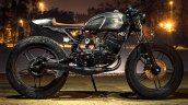 Yamaha RX135 cafe racer by Bull City Customs side