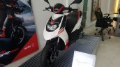 2017 Aprilia SR 150 BSIV at dealership front