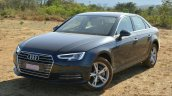 2017 Audi A4 35 TDI front three quarter First Drive Review